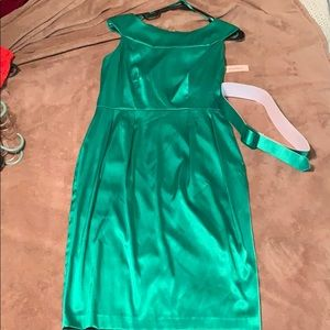 Dress Barn Satin vintage inspired dress
